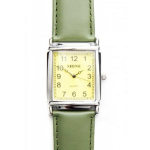 Green and Yellow Large Shine Watch